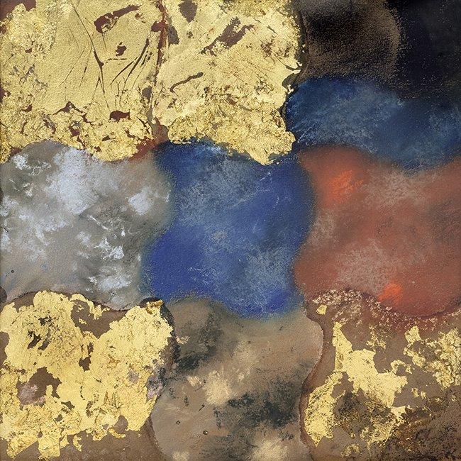 Abstractie naar een beeld van Taddeo Gaddi