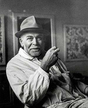 Portret Augusto Giacometti