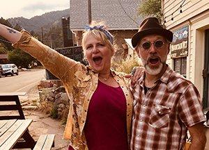 Mark Viator en Susan Maxey