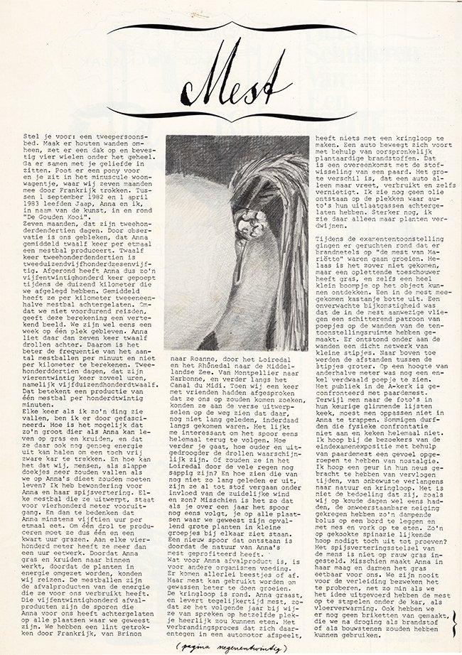 de hele eerste pagina