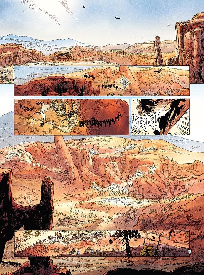 een aardbeving in de woestijn
